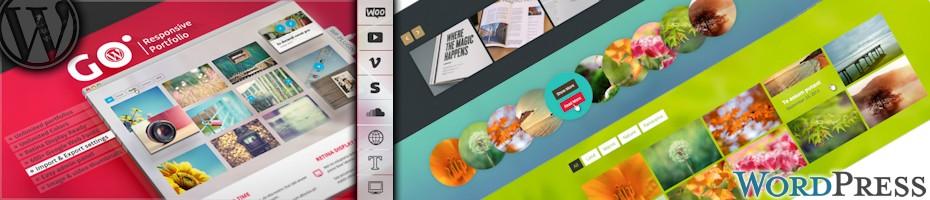 Responsive go wp for portfolio wordpress galleries