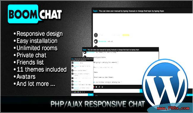 Php Boomchat Ajax Edition Wordpress Chat Download Social